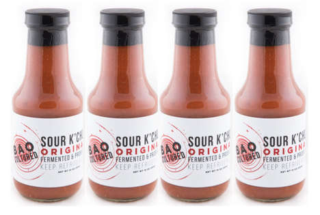 Fermented Ketchup Condiments - BAO's 'Sour K'chup' is Made with Ancient Lacto-Fermentation