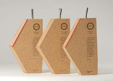 Cork Wine Bottle Concepts - A Student Designer Re-Imagined Boxed Wines With Humorous Messaging