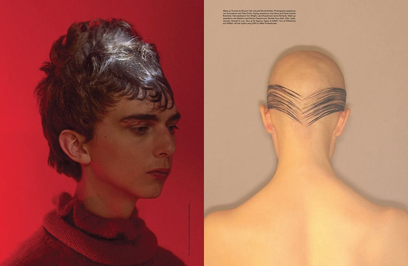 Curious Hairstyle Editorials