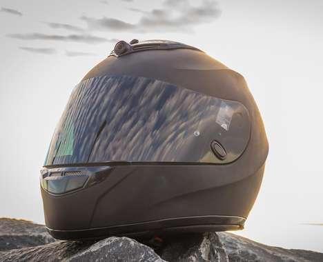 Ride-Recording Motorcycle Helmets