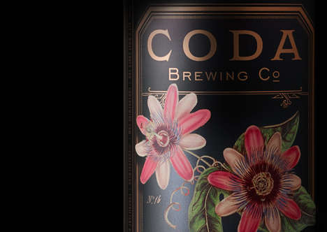 Vintage-Inspired Botanical Beers - This Brand Aims to Keeps Its History and Traditions Alive