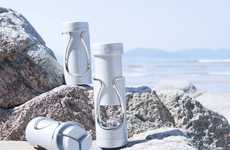 Cosmetic-Organizing Bottles - The 'Tic' Travel Bottle Keeps Shampoo and Skincare Products Separate