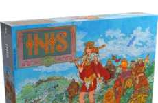 Territorial Celtic Board Games - The 'Inis' Board Game is Rooted in Celtic History and Lore