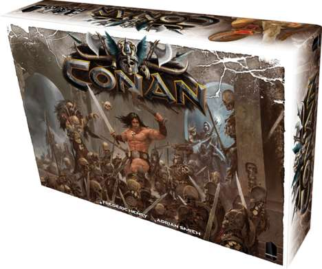 Barbarian Board Games - 'Conan' is a Board Game Version of the Robert E. Howard Series