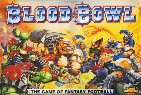 Fantastical Football Board Games - 'Blood Bowl' Pits Humans Against Orcs in a Game of Football