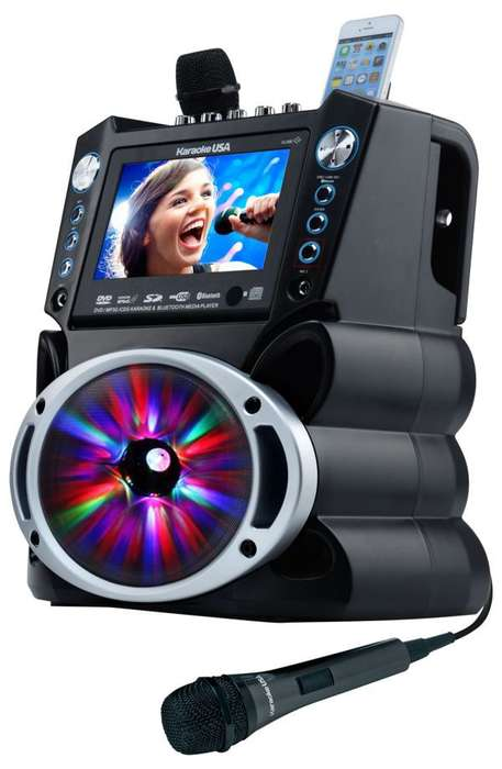 Portable Karaoke Speakers - Karaoke USA's New Karaoke System is an All-in-One Media Player