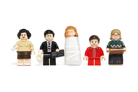 Mystery Drama LEGO Characters - These Twin Peaks LEGO Figures Were Created by Citizen Brick