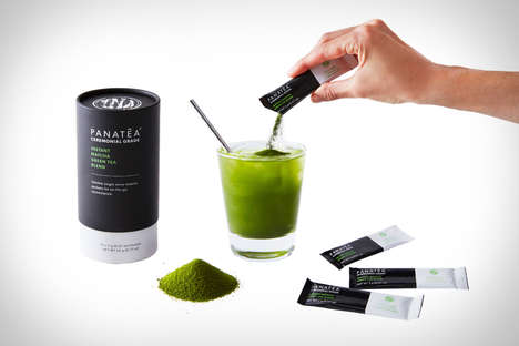 Antioxidant Tea Energy Powders - The PANATEA Instant Matcha Provides a Quick Energy Boost