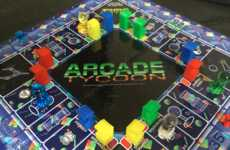 Arcade Ownership Board Games - The Arcade Tycoon Family Board Game is Mini in Size to Play Anywhere