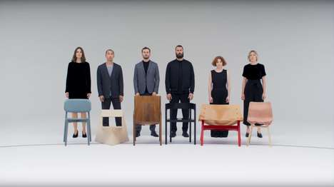 Musical Chair Short Films - COS' Film Depicts Designers Playing Musical Chairs with Their Own Pieces