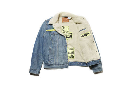 Co-Branded Trucker Jackets - This New Levi's & UNDERCOVER Series Tributes a Style's 50th Anniversary