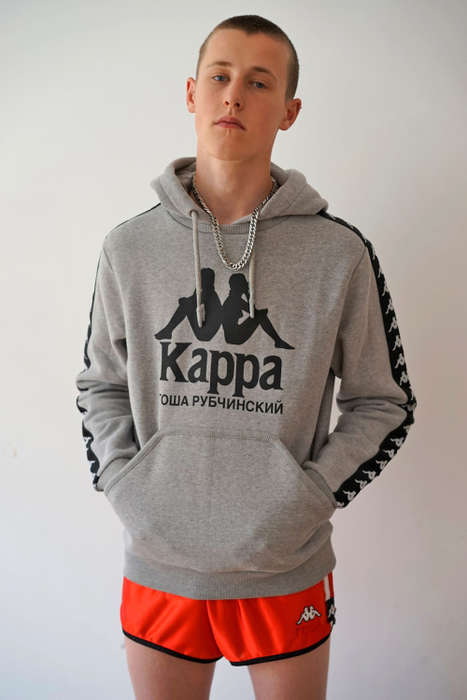 Athletic Russian Menswear - This New Gosha Rubchinskiy Collection Was Made with FILA and Kappa