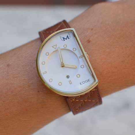 Asymmetrical Watch Accessories - This Watch is Ideal for People with a Quirky Sense of Style