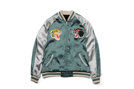 Reversible Souvenir Jackets - GrowthRing & Supply Joined with HOSU CO. for This Design