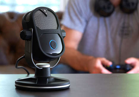 Online Streaming Microphones - The Ink Studios Streaming Audio Microphone is Great for Podcasters