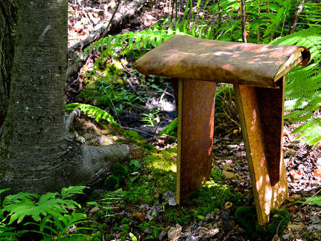Organic Fungal Furniture - 'Ecovative' Builds Furniture Out of Mushroom Fibers