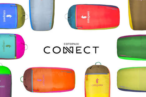 Colorful Personalized Backpacks - Consumers Can Choose Any Color Scheme for Their Cotopaxi Connect