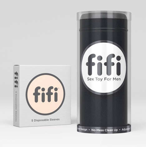 Mess-Free Intimacy Toys - The 'fifi' is a Sex Toy for Men is Easy to Clean and Inexpensive