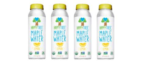 Metabolism-Friendly Maple Waters - The Happy Tree Lemon Maple Water Provides Vital Nutrients