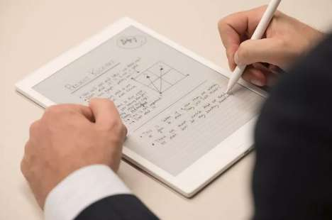 Paper-Replacing Tablets - The 'reMarkable' Paper Tablet Uses an 'E-Ink' Display