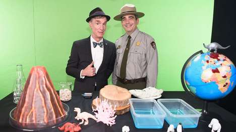 Livestreamed National Parks Benefits - Bill Nye Hosted a View-a-Thon as Part of 'Find Your Park'