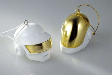 Producer Duo Christmas Ornaments - Daft Punk Ornaments, Snow Globes and Candles are Now Available