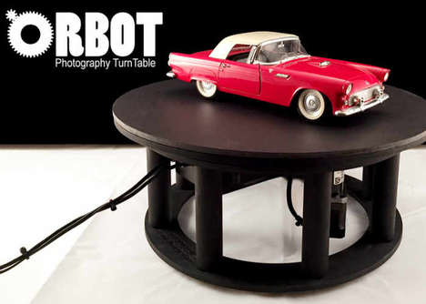 360-Degree Photography Turntables - The 'ORBOT' Video and Photography Turntable Offers Consistency