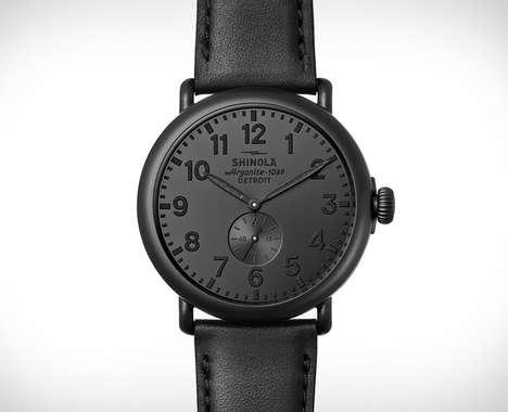 Stealth Matte Black Timepieces
