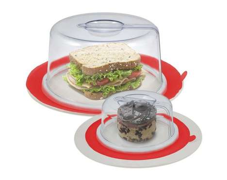 Suctioning Food Preservation Covers - The Plate Toppers Create an Air-Tight Seal Around Foods