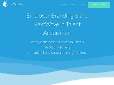 Quality Talent-Attracting Platforms - 'NextWave Hire' Uses Employee Testimonials to Attract Talent