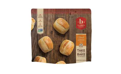Frozen Artisanal Breads - The La Brea Frozen Bakery Breads are Easy to Make at Home