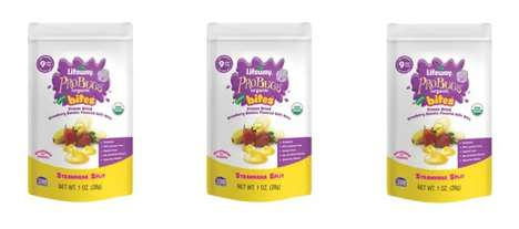 Fermented Baby Snacks - The ProBugs Bites Freeze Dried Kefir Melts Snack Bites are 99% Lactose-Free