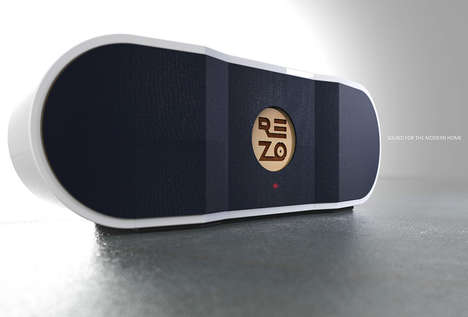 Optimal Sound Resonation Speakers - The 'Rezo' High-Quality Speaker is Made to Resonate Better