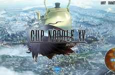 'Cup Noodle XV' is a Collaborative Parody of 'Final Fantasy XV'