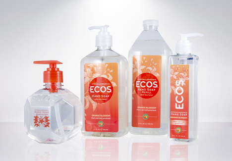 Carbon-Neutral Soap Collections - The Brand 'Ecos' Offers Environmentally Friendly Hygiene Products