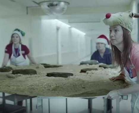 Santa-Attracting Hospital Campaigns
