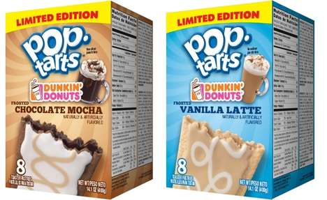 Breakfast Coffee Confections - The Dunkin' Donuts Pop Tarts are a Portable Pastry with a Coffee Kick
