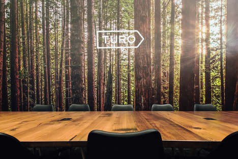 Woodland-Themed Offices - Turo's Office is Inspired by Nature and Landscapes