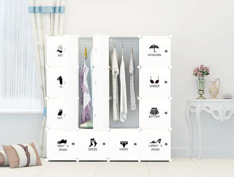 Portable Organizational Wardrobes - The Cosy Home Portable Clothes Closet Keeps Clothes Protected