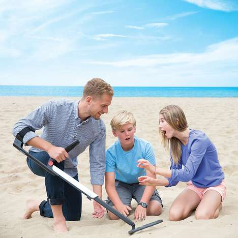 Travel-Friendly Treasure Finders - The National Geographic PRO Series Metal Detector is Professional