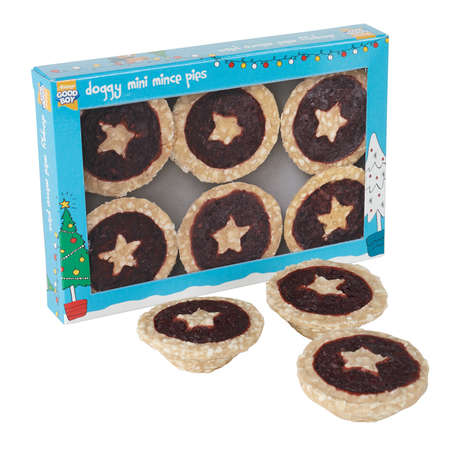 Pet-Friendly Holiday Pies - These Christmas Treats for Pets are Shaped Like Mince Pies