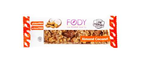 Digestion-Friendly Snack Bars - The FODY Food Co. Almond Coconut Bars are a Natural Option to Snack