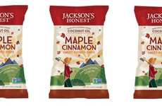Cold Weather Snack Chips - The Jackson's Honest Maple Cinnamon Sweet Potato Chips are Savory
