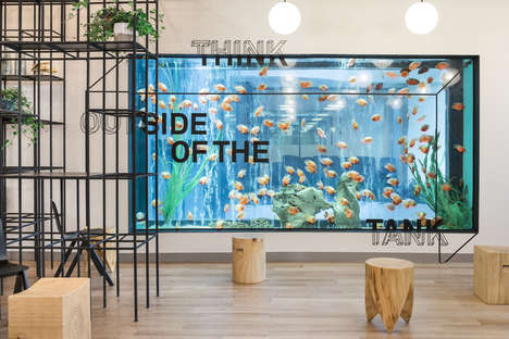 Illustrative Co-Working Spaces - The WeWork Office in Shanghai is Both Creative and Modern