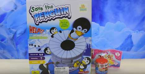 Penguin-Saving Family Games - 'Save The Penguin' is a Suspenseful Game for Two or More Players
