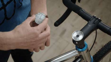 Bike Speed-Tracking Watches - The Moskito Watch Can Be Worn on the Wrist or on the Owner's Bike