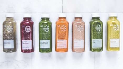 Fiber-Infused Chia Juices - This Juice Subscription Service Offers Dynamic Ingredients