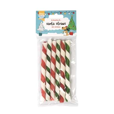 Festive Dog Chews - These Seasonal Dog Chews are Like a Pet-Friendly Version of Peppermint Sticks