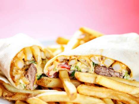 Burger Burrito Restaurants - Burgrito's in New York is Named After a Burger Burrito Mashup