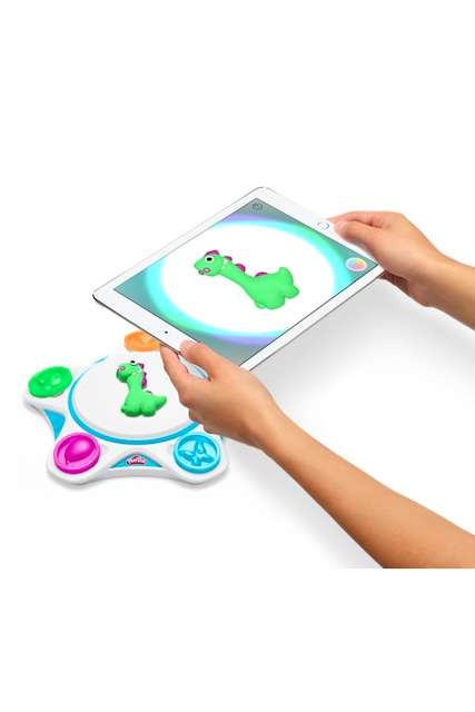 Plasticine-Animating Toys - The Play-Doh Touch App and Studio Bring Children's Creations to Life